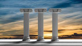 three-ancient-pillars-sunset-sky-background-65346485